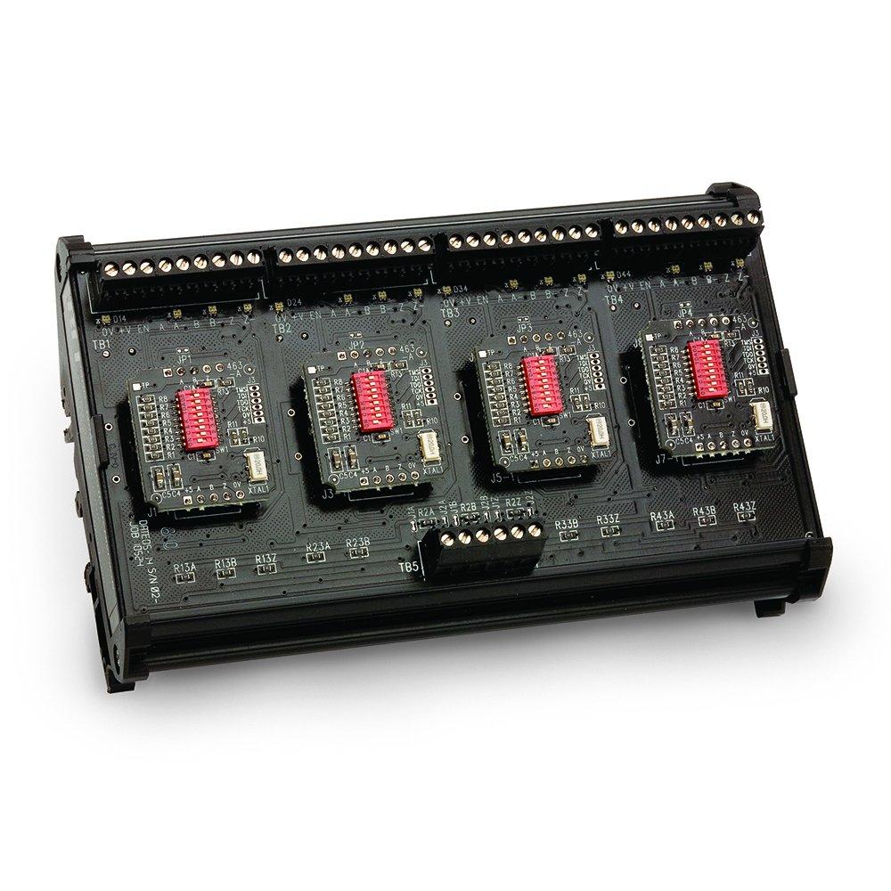 BEI Sensors 60011-001 Electronic Module, BX-5-IC/V-IC/V-IC/V-IC/V, Sensor Signal Broadcaster, 5V, Isolation Circuit/Multi voltage 5-28V in, Vout = Vin