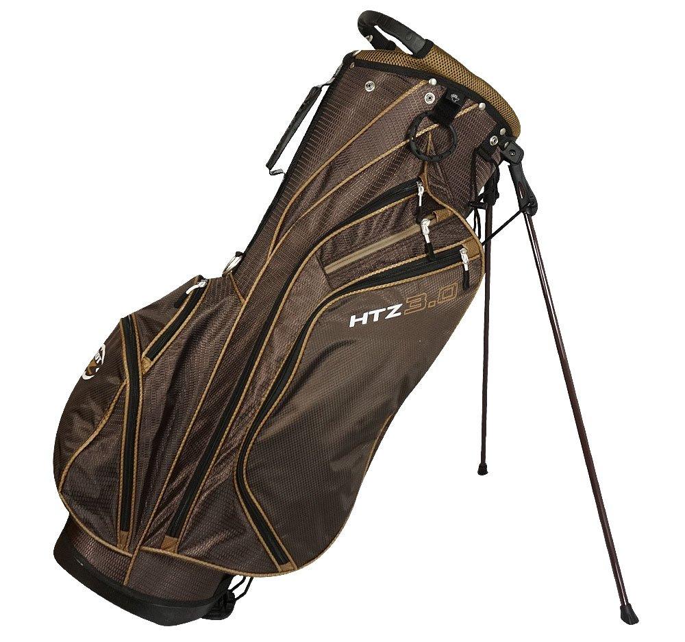 hot-zゴルフ2018 3.0スタンドバッグ B0751J8DV5 ココアブラウン ココアブラウン