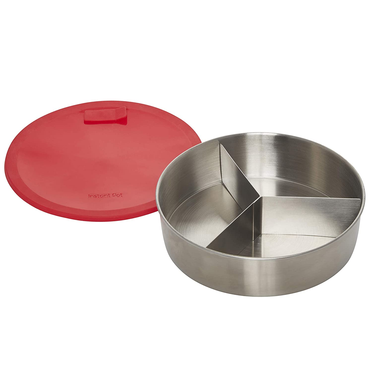 7-inch Red Instant Pot 5252078 Offical Round Cake Pan