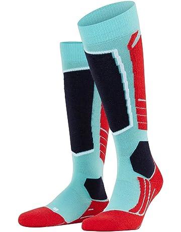 FALKE Damen SK2 Crest Ski Kniestrumpf Skisocken Schurwollmischung Gr/ö/ße  35-42 mittelstarke Polster 1 Paar schnelltrocknend versch Farben Feuchtigkeitsregulierend Erw/ärmungseffekt