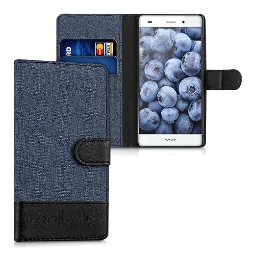 78 opinioni per kwmobile Custodia portafoglio per Huawei P8 Lite (2015)- Cover in simil pelle a