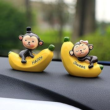 Buy Beauty Resin Ornaments Fashion Love Monkey Doll