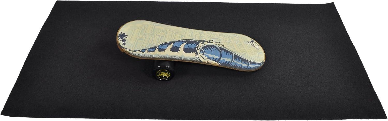 Roller Trickboard Balance Board Blue Radical Balance Training Carpet