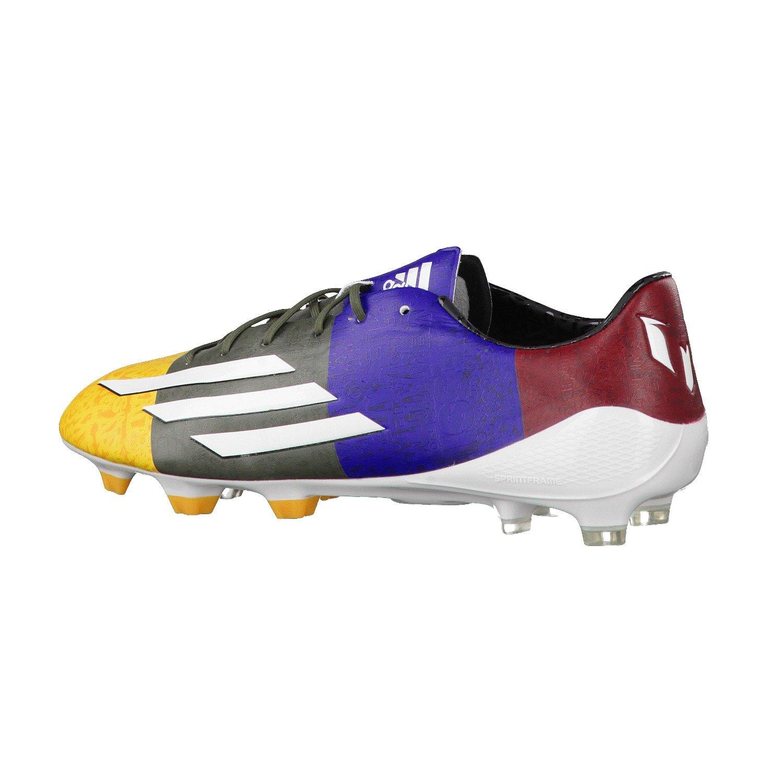 3f67957f7ed Adidas F50 adizero TRX FG Messi Fussballschuhe solar gold-running white- earth green - 47 1 3  Amazon.co.uk  Sports   Outdoors