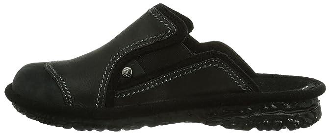 4055b0cd9029f Romika Mikado H 44, Pantoufles non doublées homme - Noir - Noir, 42 EU (8  Homme UK) EU  Amazon.fr  Chaussures et Sacs