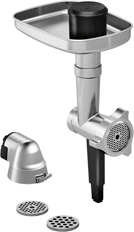 Bosch MUZ9FW1 Picador de carne, accesorio opcional para robots de cocina OptiMUM, Acero y negro: Amazon.es: Hogar