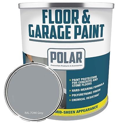 How to paint a concrete garage floor uk