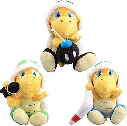 Amazon.com: UiUoU Super Mario Bros. Martillo Bro & Boomerang ...