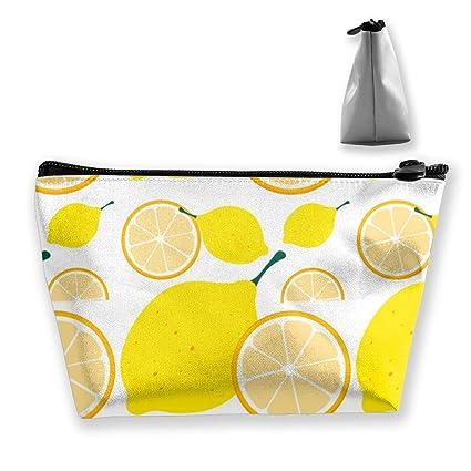 Bolsa de maquillaje amarillo limón Bolsas de aseo grandes ...