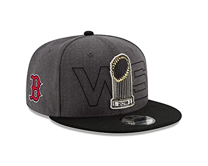 f958293cd63 Image Unavailable. Image not available for. Color  New Era Boston Red Sox  2018 World Series Champions 950 Adjustable Snapback Hat
