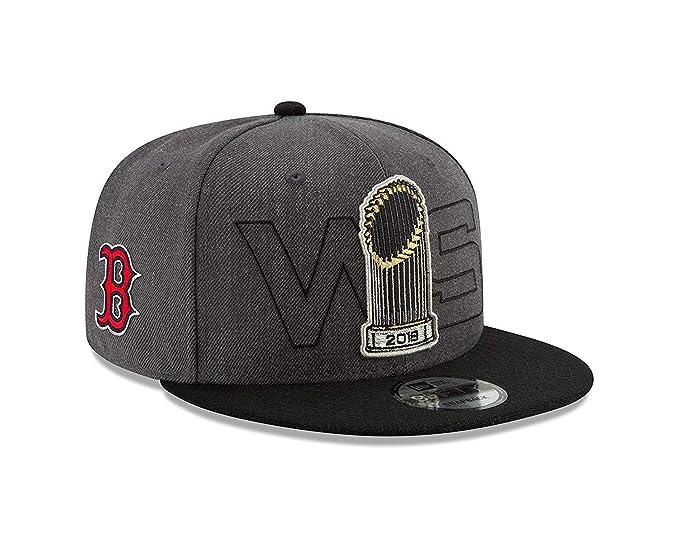 various colors ee3bb 801db Amazon.com   New Era Boston Red Sox 2018 World Series Champions 950  Adjustable Snapback Hat   Clothing