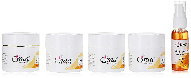 QRAA Orchard Facial Kit-Fusion Of Mixed Fruits, 285 ml (Pack of 5)