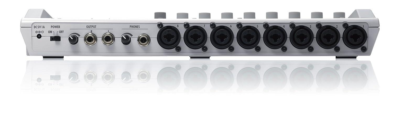 R16 equipo grabador interface controlador.grabadora 8 pistas Zoom