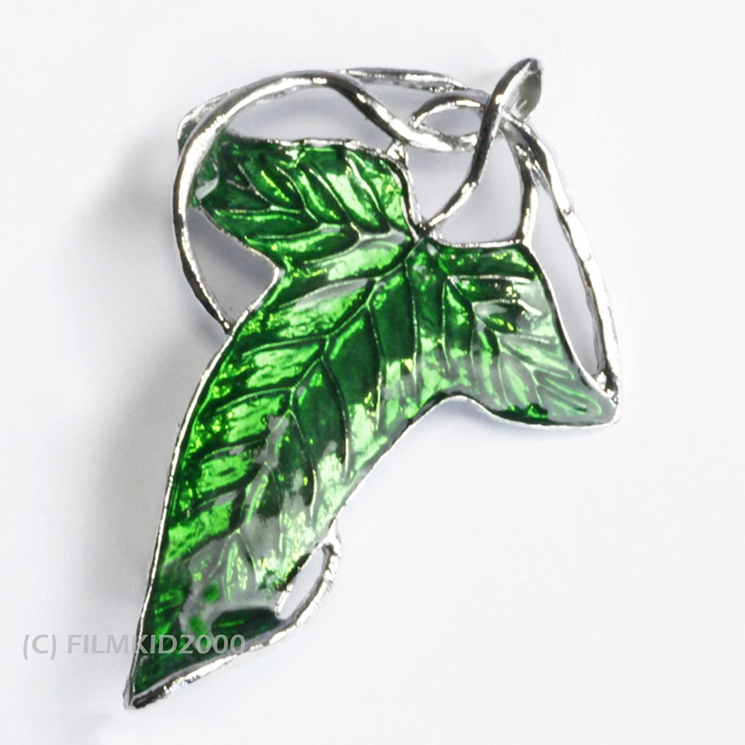 Hobbit Elven Leaf Brooch Pin Thailand