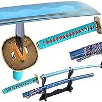 Espada de Katana Samurai Japonesa de Hoja Afilada de Colores