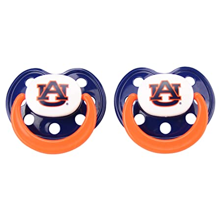 Amazon.com: Bebé Fanatic NCAA 2 unidades) Baby Pacifier ...