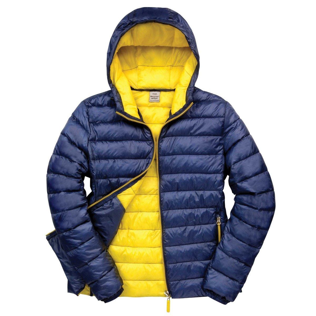 Result Urban Mens Snowbird Hooded Jacket