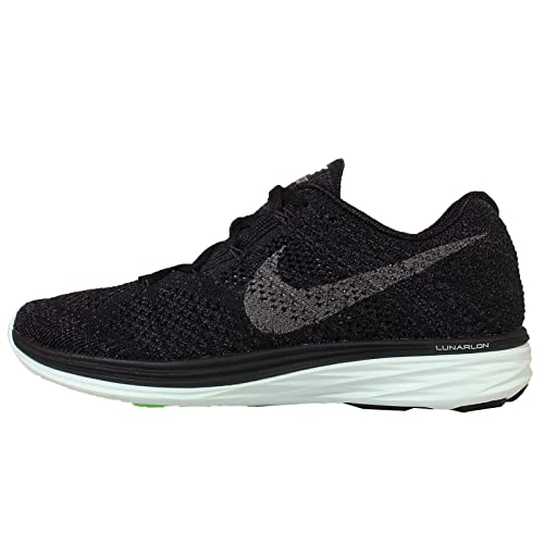 new products d868e 2d475 Nike Womens Flyknit Lunar3 LB Running Trainers 826838 Sneakers Shoes (US  6.5, Black Metallic