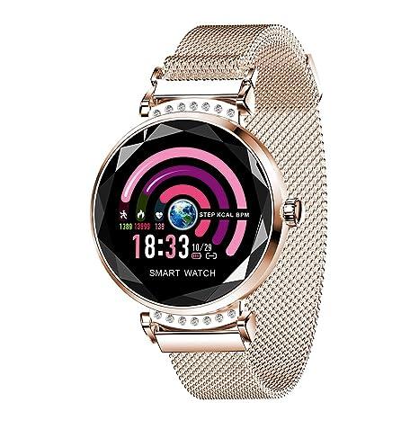 Amazon.com: LWM Smart-Watches- Reloj inteligente para mujer ...