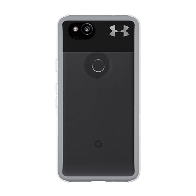 2ffdbf36 Under Armour UA Protect Verge Case for Google Pixel 2 - Clear/Cool Gray  10C/Gunmetal Logo