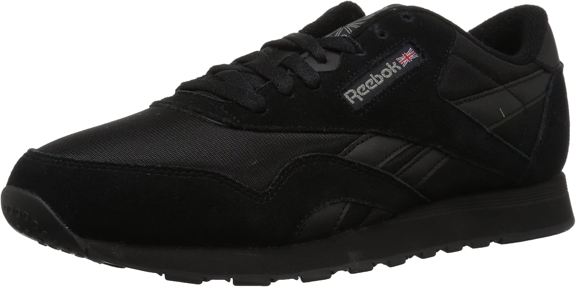 | Reebok Classic Nylon Sneaker, blackblack
