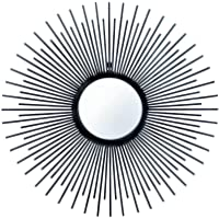 Home Decor Iron Rays Wall Mirror