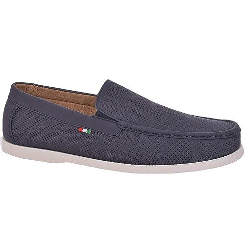 Duke London D555 - Mocasines de Sintético para Hombre: Amazon.es: Zapatos y complementos