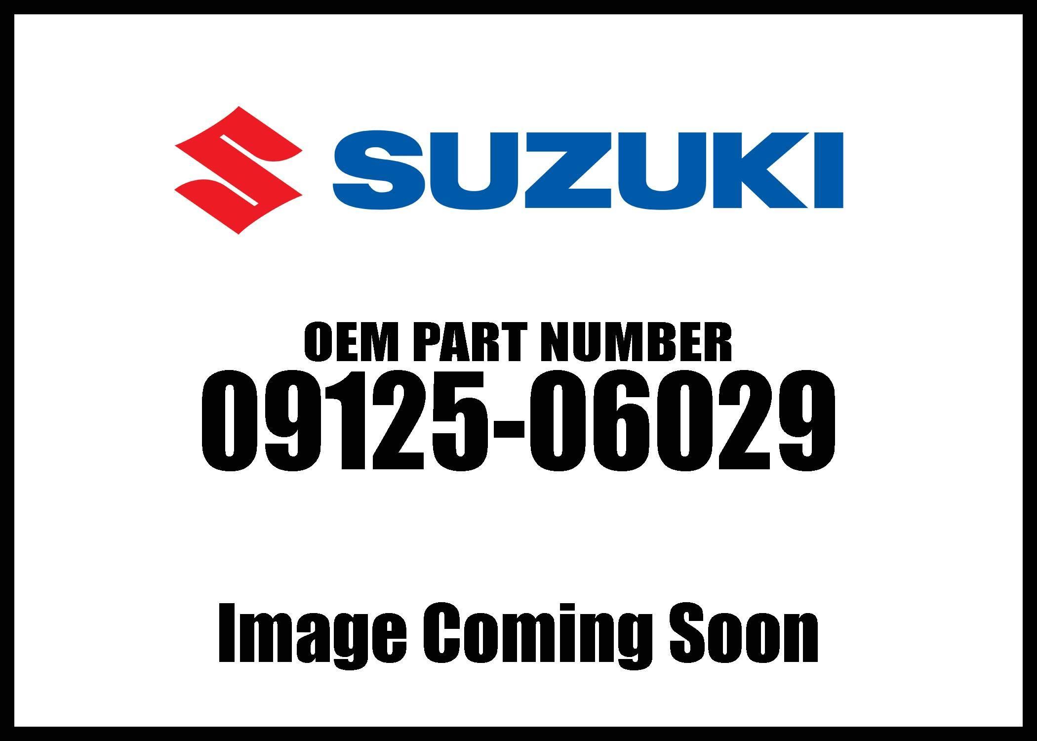Suzuki Fuel Tank Band 09125-06029 New Oem