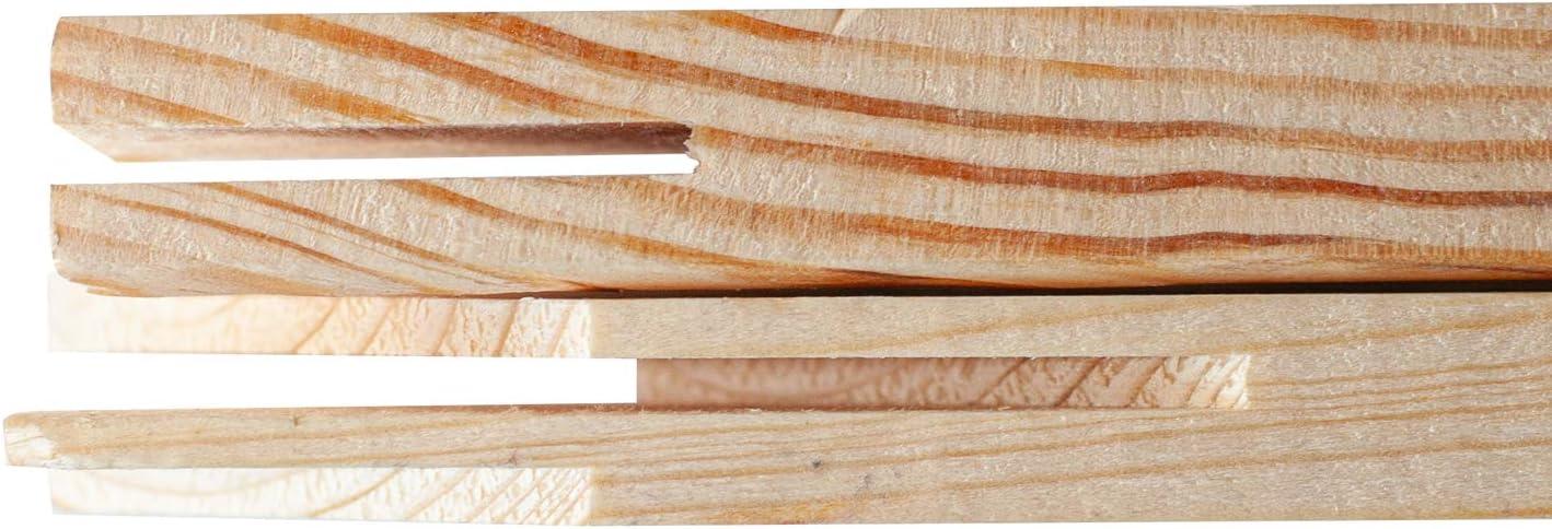 2 Pack Wood Canvas Stretcher Bars for Wooden Frames 12
