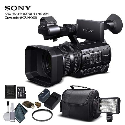 Amazon.com: Sony HXR-NX100 - Videocámara Full HD NXCAM (HXR ...
