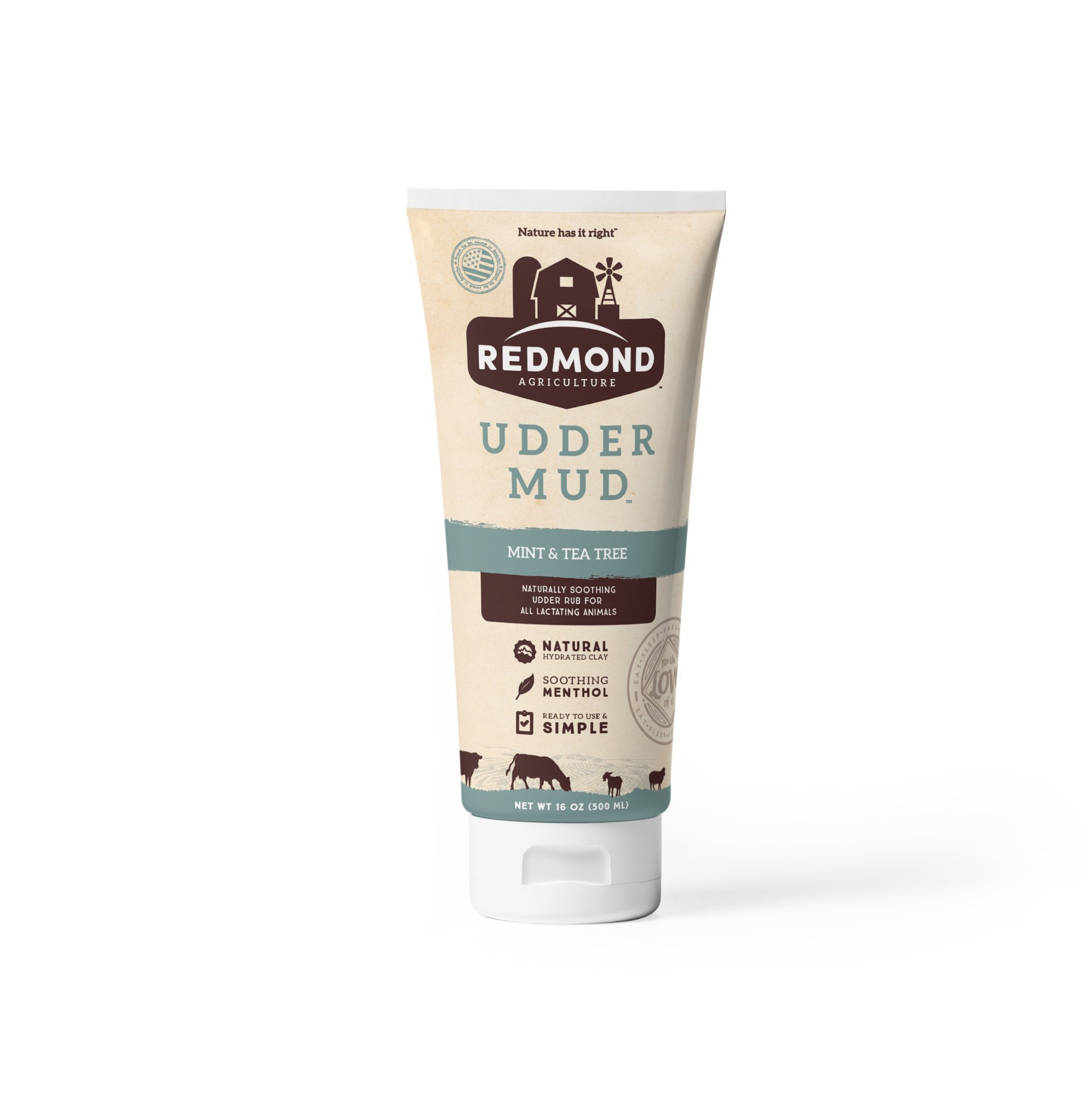 Redmond - Udder Mud Organic Livestock Ointment Rub Care Lotion (16 oz)