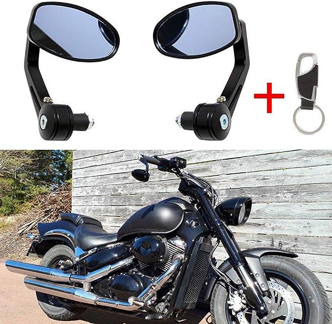 Ein Paar Motorrad Spiegel Lenkerendenspiegel Lenkerspiegel Quad Rückspiegel 7 8 22mm Auto