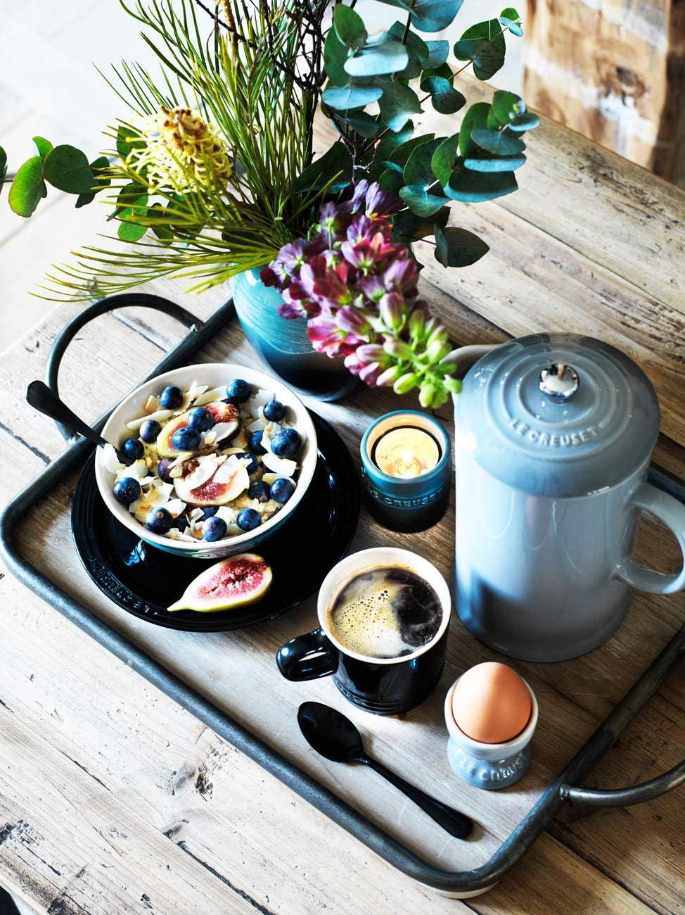 Le Creuset Stoneware Cafetiere Duck Egg Blue