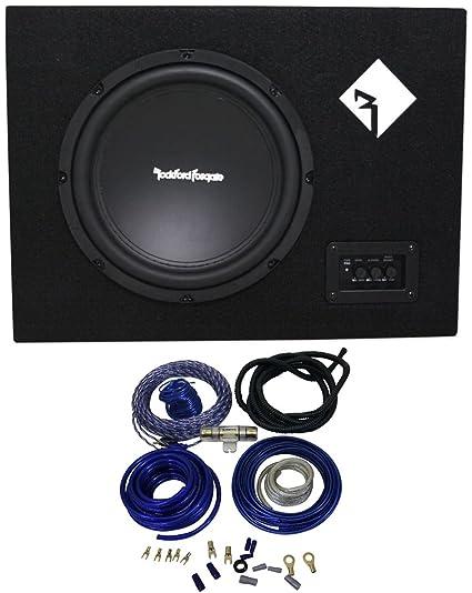 Amazon com: ROCKFORD FOSGATE R300-10 300w 10