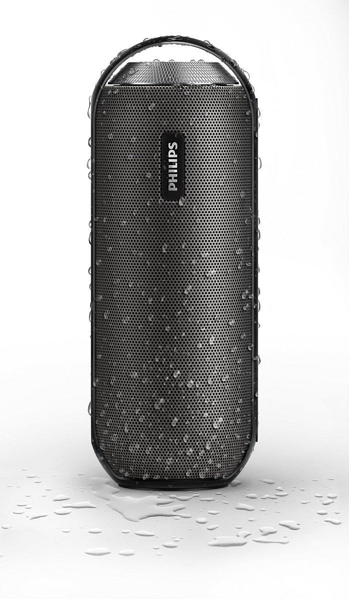 Philips BT6000 - Altavoz portátil (Bluetooth, 2 x 6 W, NFC, micrófono) color negro: Philips: Amazon.es: Electrónica