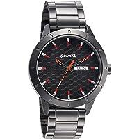 Sonata Nxt Analog Black Dial Men's Watch-7137AM02