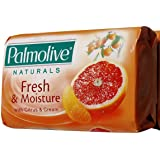 Palmolive Naturals Refreshing Moisture with Citrus & Cream Bar Soap, 80 G / 2.8 Oz Bars (Pack of 12)