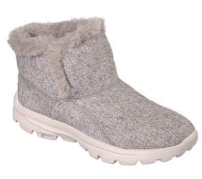 Skechers Womens Go Walk Move Arctic Boots in Stone - UK 8  Amazon.co ... 8ca93cff12