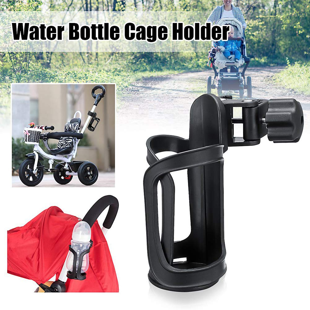 AKOAK 1 Pack 360 Degree Rotating Stroller Cup Holder Bicycle Tricycle Universal Parts Childrens Quad Bike Bottle Holder