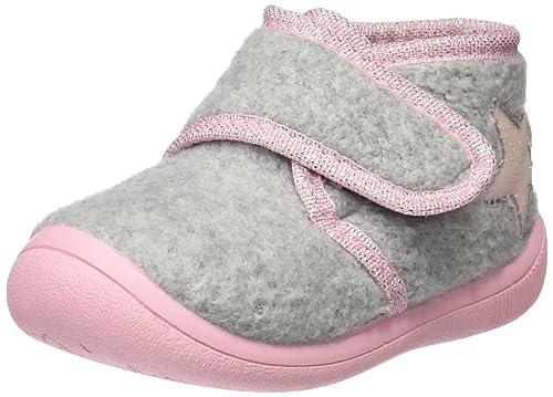 Gioseppo 30570, Zapatillas de Estar por casa para Bebés, Gris (Grey), 21 EU: Amazon.es: Zapatos y complementos