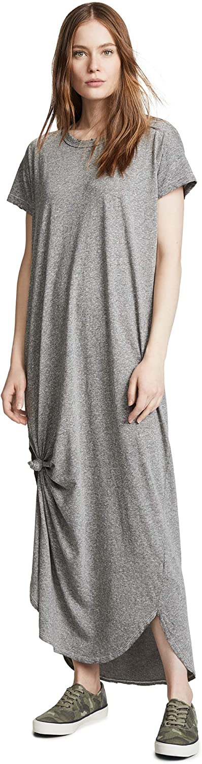 THE GREAT Womens The Knotted Tee Dress