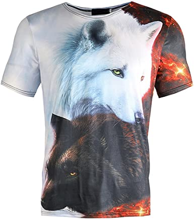 Palarn Mens Fashion Sports Shirts Unisex Printing Tees Shirt Short Sleeve T Shirt Blouse