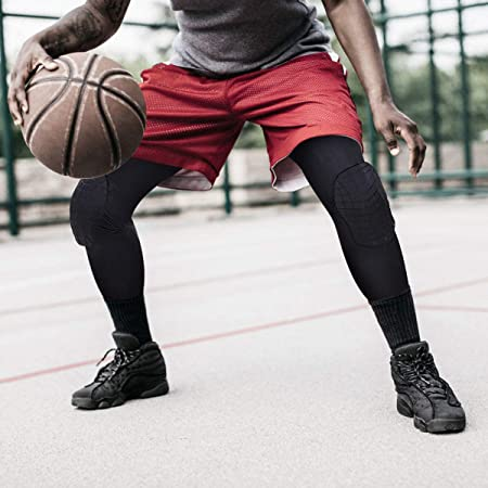 Anti-Collision Breathable Honeycomb Knee Pads Basketball Climbing Knee Pads YunZyun Basketball Knee Pads Adult Kneepad Football Knee Brace Support Leg Elbow Protect