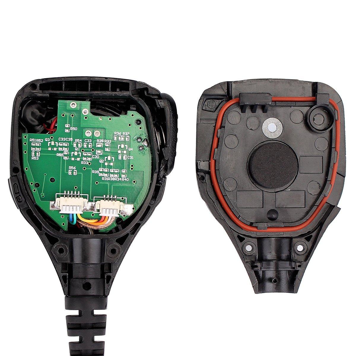 Amazon.com: Retevis 2 Pin Walkie Talkie Speaker Mic IP54 Waterproof Remote Speaker Microphone Fit Baofeng UV-5R BF-888S BF-F8HP Retevis RT-5R H-777S H-777 ...