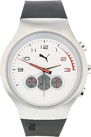 montre puma blanche