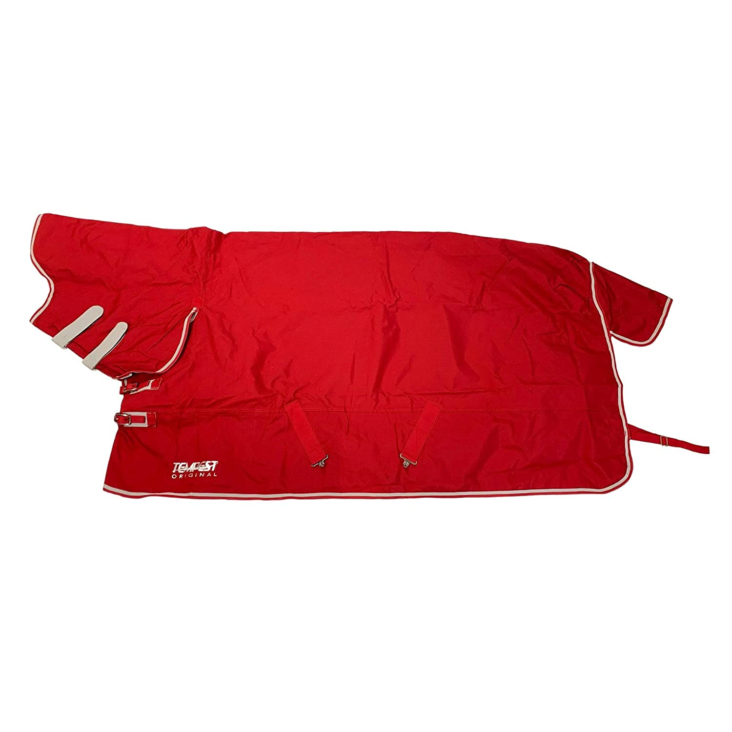 Red Grey 6'6\ Red Grey 6'6\ Shires Tempest Original Lite Combo Turnout Rug 2015 Petrol