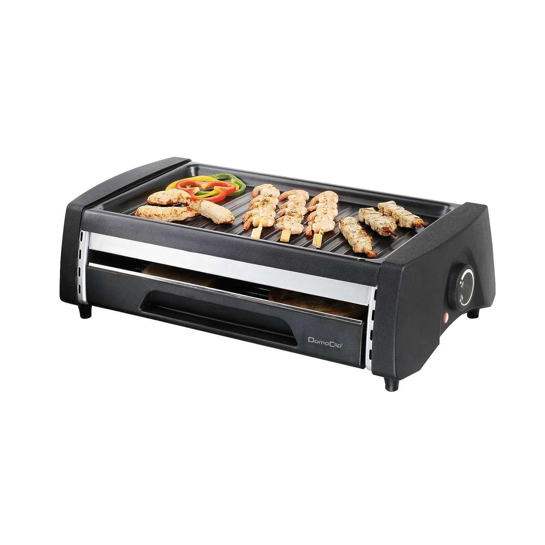 2 in1 Barbacoa Eléctrica y mini horno de pan - Multi Grill Autobús (superficie de parrilla doble, Lucha desmontable, parrilla, camping, barbacoa, mesa ...