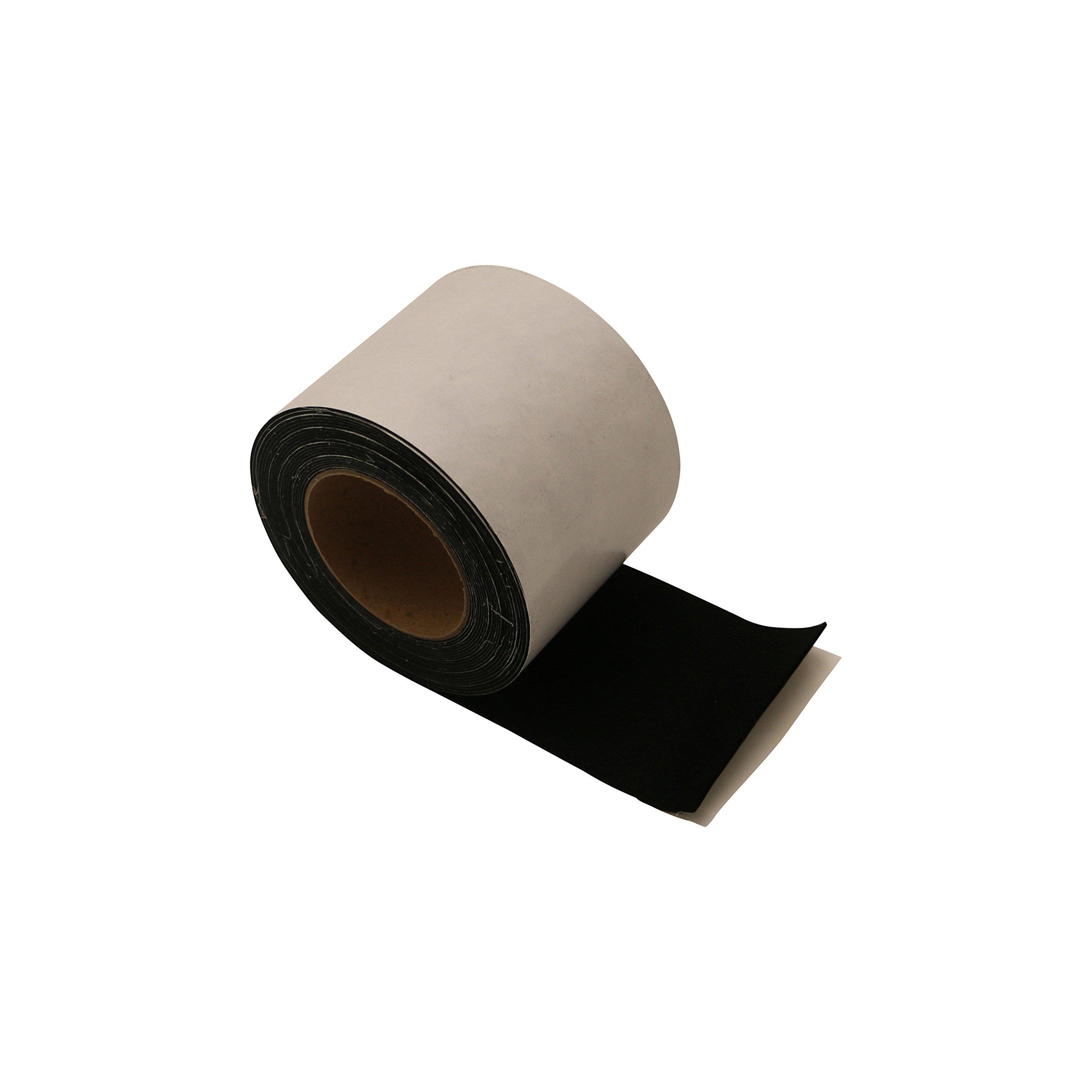 J.V. Converting ACF-06/BLK4833 JVCC ACF-06 Acrylic Craft Felt Tape: 4'' x 25 ft, Black