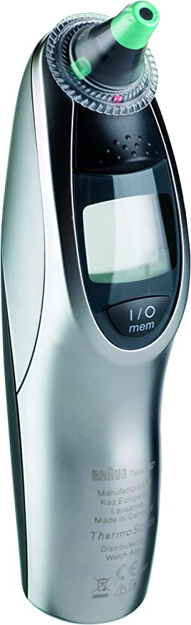 Braun Pro 4000 Thermo Scan Thermomètre auriculaire: Amazon