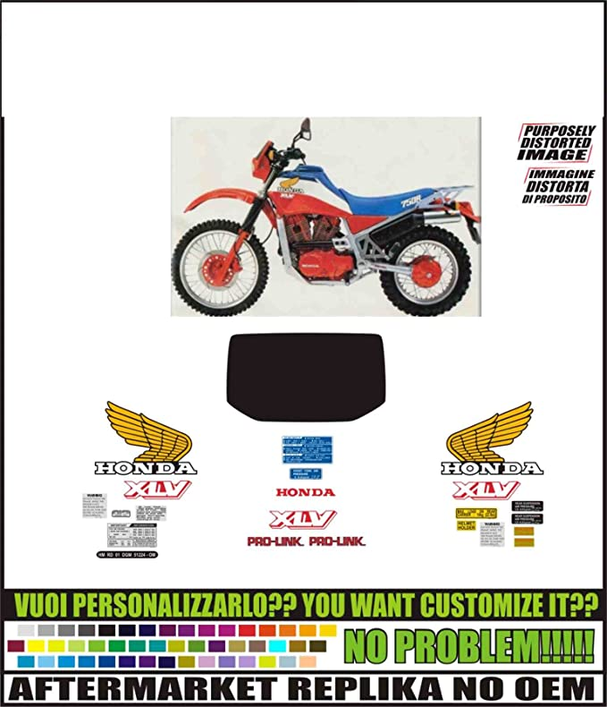 Kit Adesivi Decal Stickers Kompatible Aufkleber Xlv 750 R Rd 01 1983 Ability To Customize The Colors Auto
